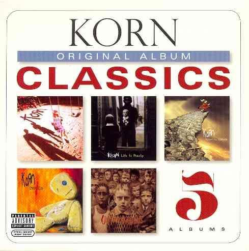ORIGINAL ALBUM CLASSICS BY KORN (CD)